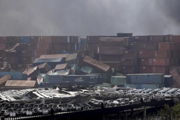 Toxic gas explosions hit the Port of Tianjin, killing 50, injuring 700
