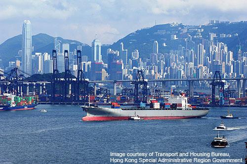Temporary loading dock established of Hong Kong for five months