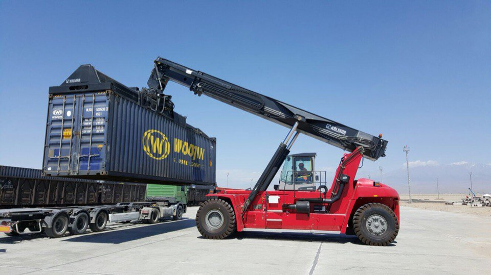KTZE Khorgos, a Kazakhstan-China DP World initiative buys Kalmar gear