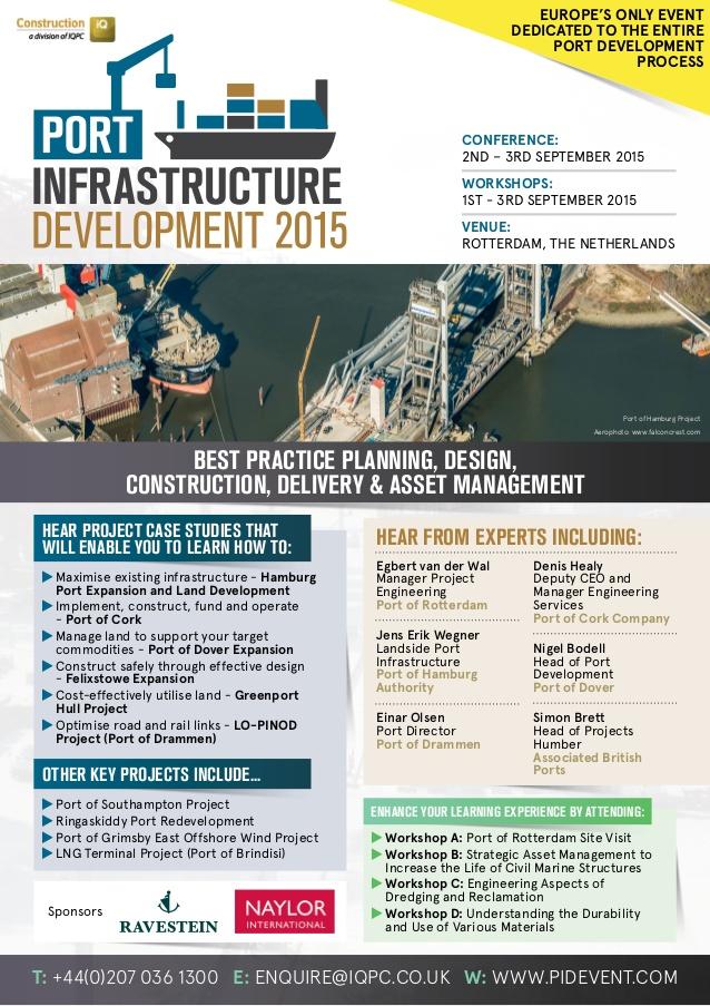 European ports to discuss infrastructure development at Rotterdam meet