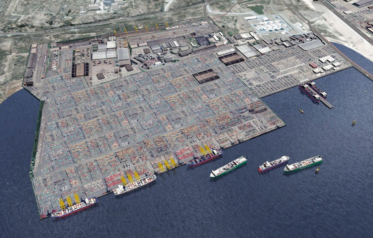 Bronka port outside St Petersburg gets 2 Liebherr container gantry cranes