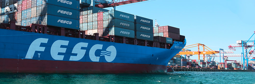 Russia's Fesco's first half container volume declines 28pc to 174,570 TEU
