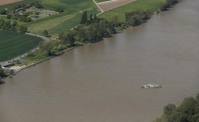 Low water levels on Rhine and Danube reduce cargo ship loads in Germany