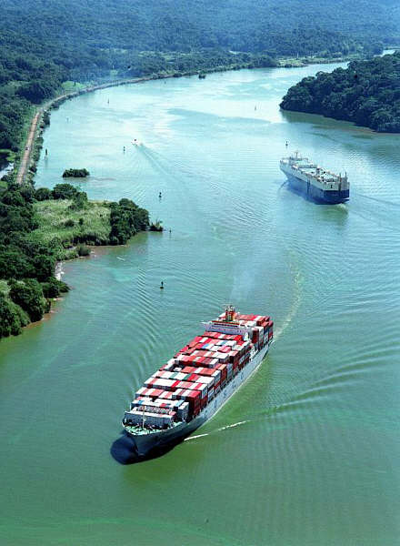 Panama to assess if seepage will delay opening of expanded canal
