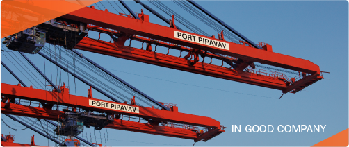 Pipavav hits big leagues as APM Terminals docks 9,971-TEU Maersk ship