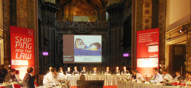 Industry leaders from around the world gather in Naples for Shipping & The Law