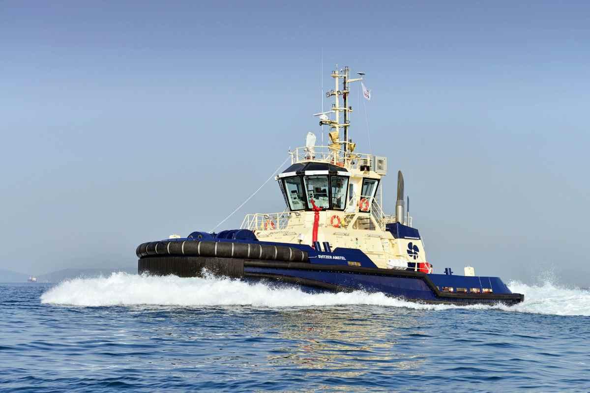 "Sanmar built ""M/T Svitzer Amstel"" ready to join Svitzer's fleet"