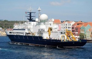 Russian Spy Ship Makes Port Call In Curacao