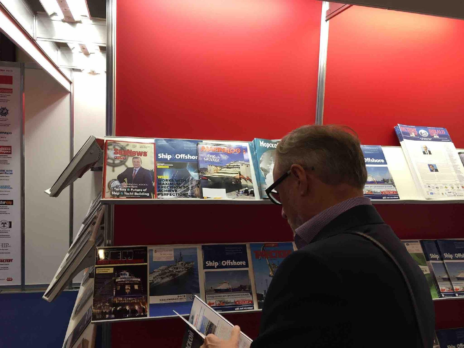 The NEVA shipping congress and exhibition has started at ExpoForum center, St. Petersburg