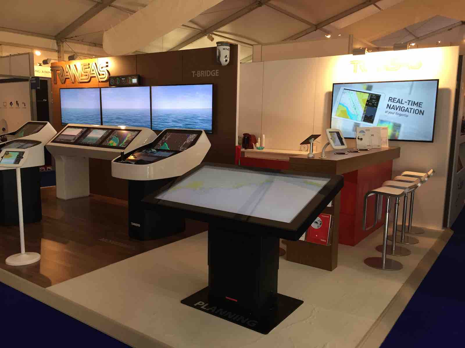 Transas integrated technologies presented at the Monaco Yacht Show