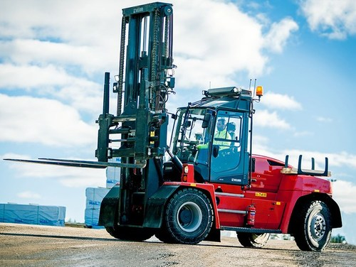 Kalmar delivers its 1,000th medium-range G-generation forklift truck