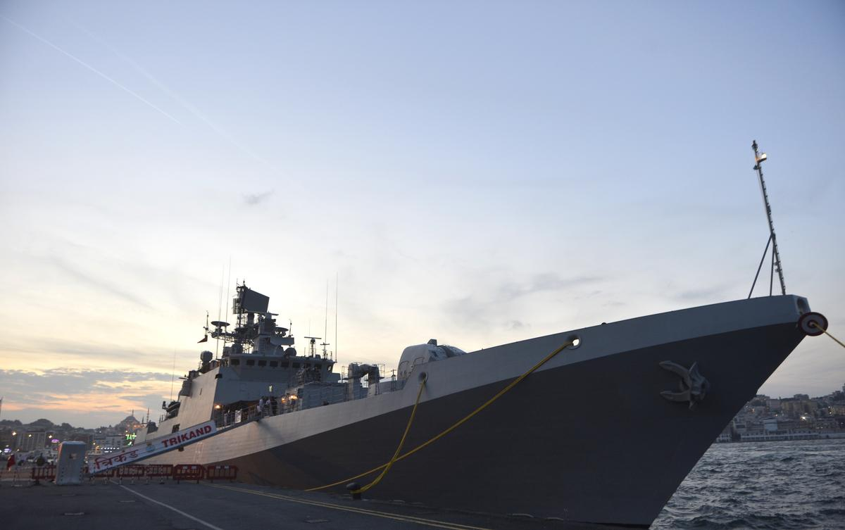 Indian Naval Ship INS Trikand visits Turkey