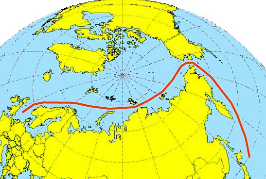 Northern Sea Route traffic falls - 631 permits issued, 53 transits made