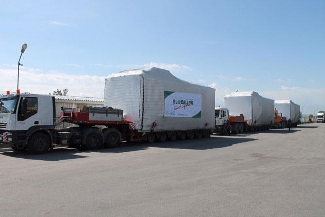Globalink moves 15 tonnes of gas pipeline gear from Ukraine to Kazakhstan