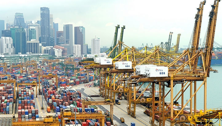 PSA lays foundation stone for BMCT container terminal in Mumbai
