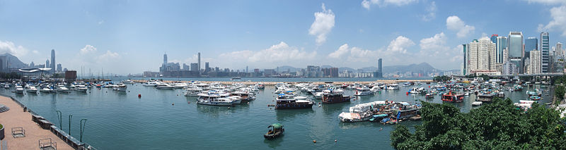 Six weeks of dredging at HK's Causeway Bay Typhoon Shelter