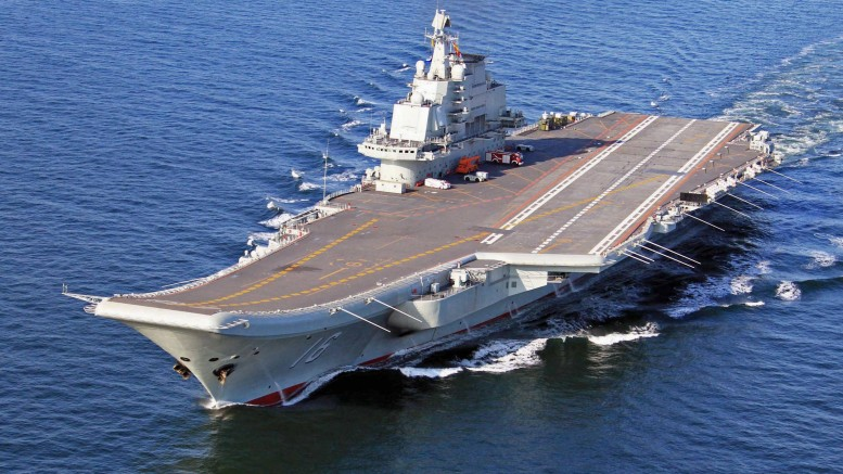 China: Liaoning (Varyag) Aircraft Carrier not sent to Syria