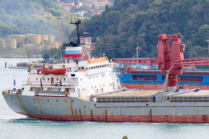 """Turkish ship """"Alican Deval"""" Sold to Russian Navy"""