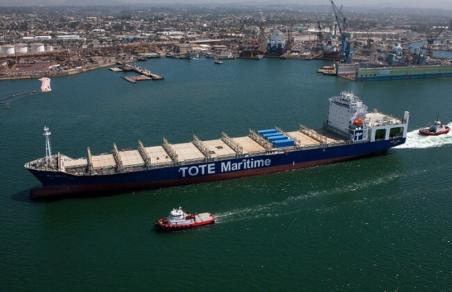 Isla Bella: The World's First LNG-Powered Container Ship delivered