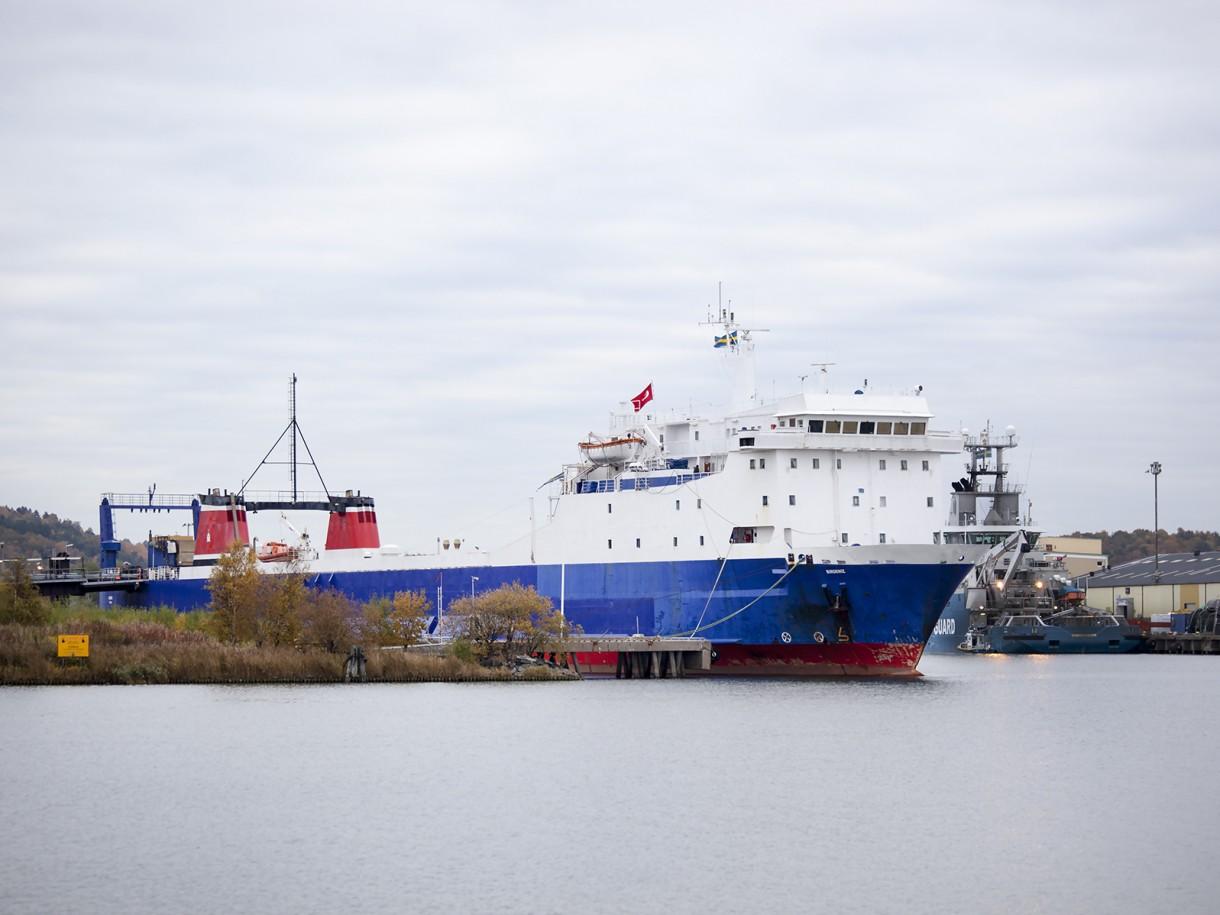 Ro-Pax Stena Scanrail sold to Turkey and renamed to Birdeniz