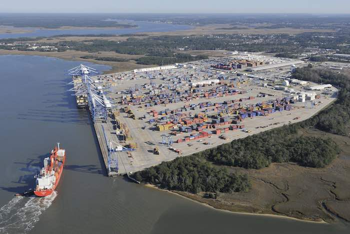 South Carolina handles 1.3 million TEU in 7 months, increases 13pc