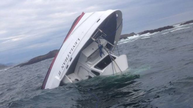 Canada whale-watching tragedy: Five dead as Leviathan II boat sinks