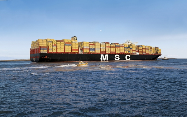 MSC Oscar makes maiden call at Le Havre