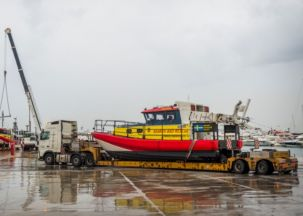GAC delivers of two boats to Greece for refugee rescue