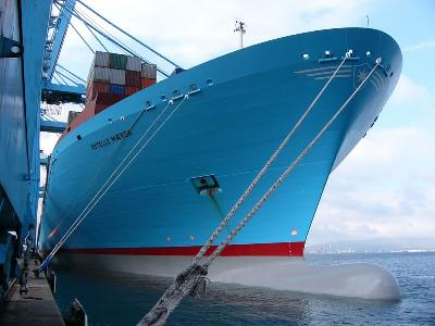 A-E rate up 327.7pc to US$988/TEU, rising 15pc to USWC and 9pc to USEC