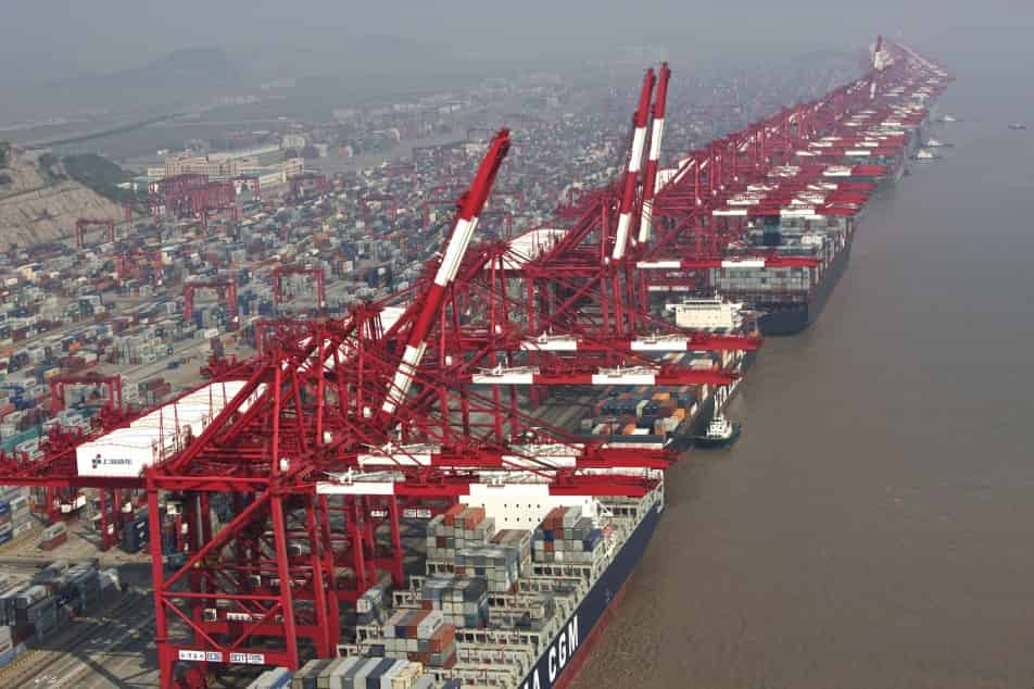 Shanghai Port registers first quarterly profit fall in over a year