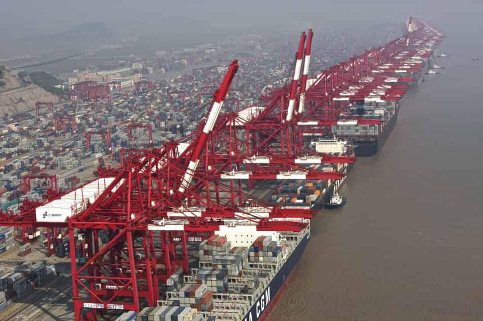 Shanghai port box throughput soars 14pc to 3.4m TEU in March