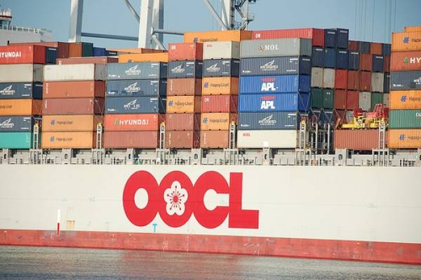 OOCL takes delivery of final 8,888 TEU newbuilding