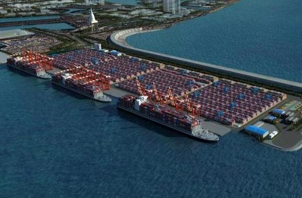 Chinese-built port terminal in Colombo converting Sri Lanka into major shipping hub