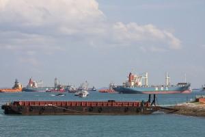 Idle containership fleet surpasses 1m TEU mark