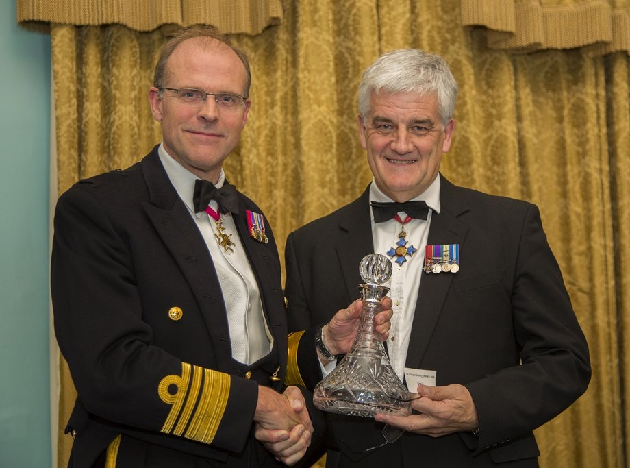 Rear Admiral Chris Parry lands best maritime journalism contribution in 2015