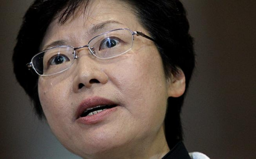 HK's acting CE says port in fine shape despite volume drop for past 16 months