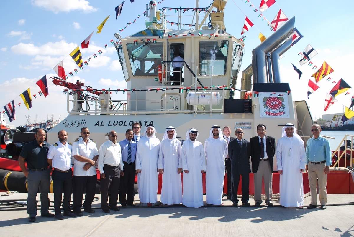 Damen delivers ASD 2411 to Sharjah Ports Authority