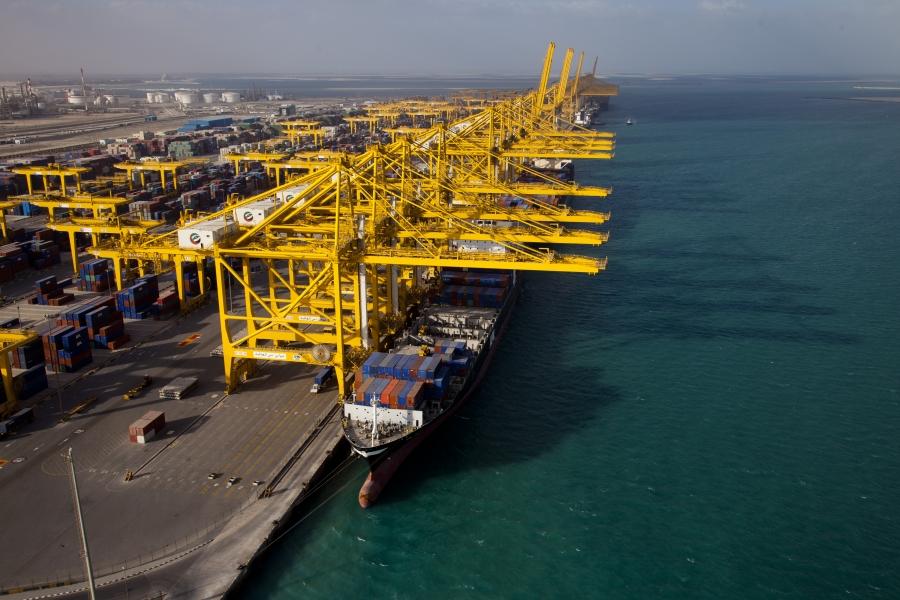 Maersk's Triple-E 18,000-TEU ship makes one-off call at Jebel Ali port