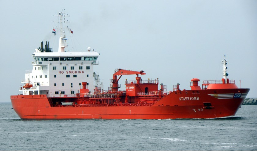 "Accident on the Northsea: ""Stavfjord"" collided with ""Helena Elisabeth"""
