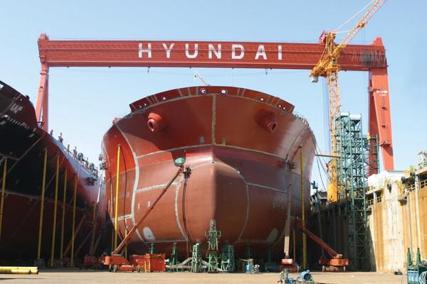 Hyundai Heavy Industries Group Tightening Its Belt