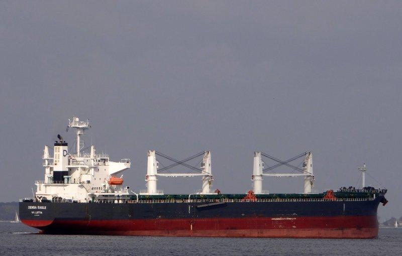 Fire broke out at engine room of Turkish ship Densa Eagle, 3 Injured
