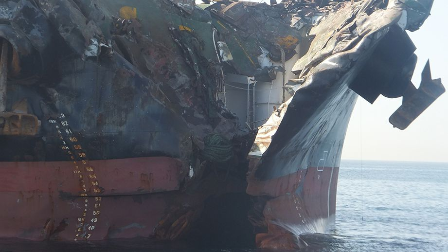 Situational Awareness Cited in Jebel Ali Collision