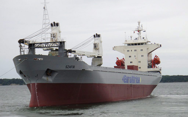 Nigerian pirates free 5 Polish crew after attacking geared 10,000-dwt ship