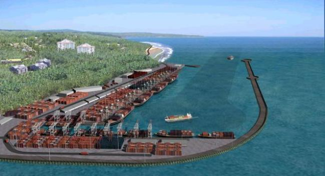 Construction starts on India's new Vizhinjam multipurpose port in Kerala