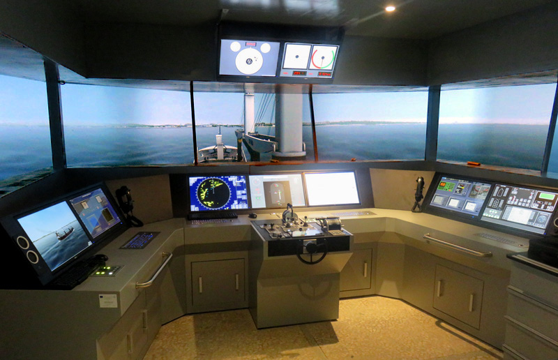 City of Burgas opts for VSTEP full mission bridge maritime simulator