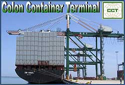 Berth 4 at Evergreen's Colon Container Terminal in Panama now finished