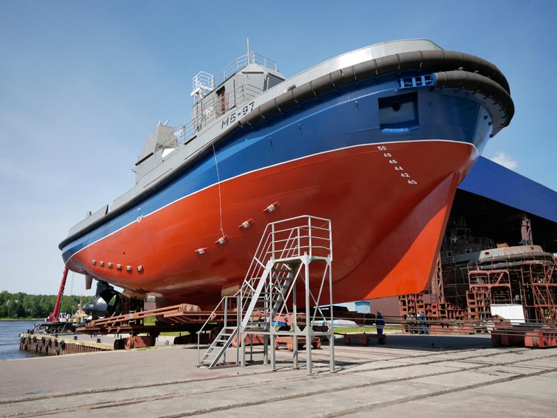 Pella Shipyard completes mooring and sea trials of tugboat MB-97