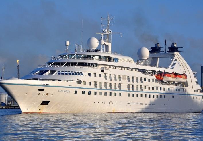 Star Pride runs aground, program cancelled