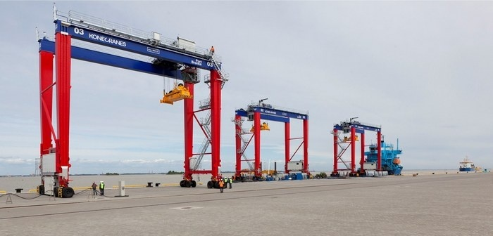 St Petersburg opens new deepwater port for containers, ro-ro traffic