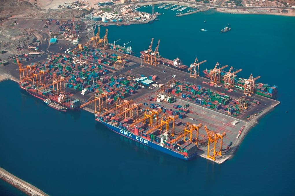 Gulftainer's Khorfakkan port breaks world box productivity record